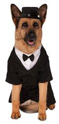 Big Dogs Dapper Dog Costume, XXX-Large