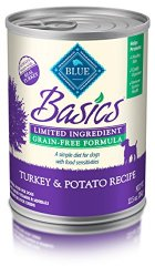 Blue Buffalo Basics Limited Ingredient Turkey Dinner 12.5 oz, Pack of 12