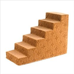 Bowsers Designer Pet Steps, Pecan Filigree, 6 steps