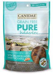 Canidae Grain Free PURE Heaven Biscuits with Salmon and Sweet Potato for Dogs, 11-Ounce