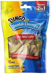 Dingo Dental Chomps for Medium Dogs, 10-Count
