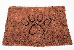 Dog Gone Smart Large Dirty Dog Doormat, Brown