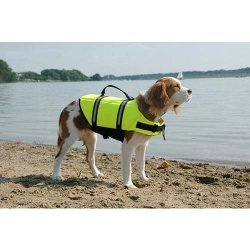 Dog Life Jacket Large Yellow 50 – 90 lbs by Paws Aboard