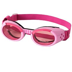 Doggles ILS Interchangeable Lens System Pink Frame / Pink Lens, Sizes: Extra Small