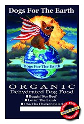 Dogs For The Earth Organic Dehydrated Dog Food Cha Cha Chicken Salad Large Bag