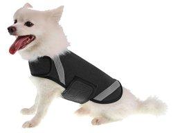 Extreme Neoprene Multi-Purpose Protective Shell Dog Coat, Black, SM