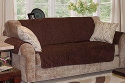 Furhaven Pet Products Home Sofa Protector, Espresso