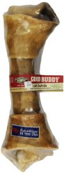 Good Buddy Castor and Pollux USA Rawhide Bone, 10 to 11-Inch , (Pack of 5)
