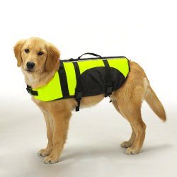 Guardian Gear Aquatic Dog Preserver, Medium, 16-Inch, Yellow