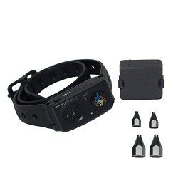 High Tech Pet RC-8 Radio Collar for Humane Contain Electronic Fence Systems and Radio Mat Pet Deterrent Kits
