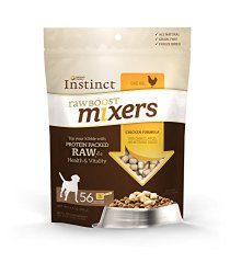 Instinct Raw Boost Mixer Chicken Formula Grain- Free Freeze Dried Meal Topper for Dogs, 14 oz. Bag
