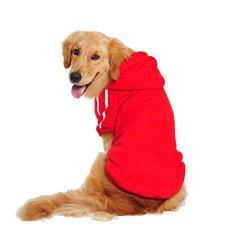 Lesypet Big Dog Sweater Dog Hoodies Sports Clothes Design for Big Dog, Labrador Retriever, Golden Retriever ,German Shepherd Dog,Boxer etc, 60lbs-80lbs