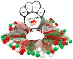 Mirage Pet Products Christmas Fuzzy Wuzzy Smoocher Medium .