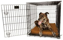 Orthopedic 4″ Dog Crate Pad – Waterproof & Tear Resistant – For Crates 42 x 28