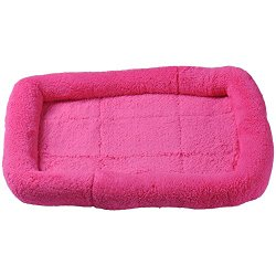 Pet Cat Dog Bed Cushion Padded Bolster Bed
