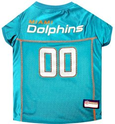Pets First NFL Miami Dolphins Jersey Apparel for Pets, X-Large