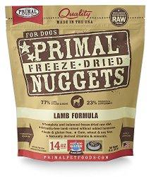 Primal Pet Foods Freeze-Dried Canine Lamb Formula