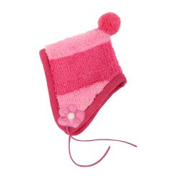 Puppia Large Authentic Dodo Winter Hat, Pink