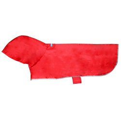 RC Pet Products Packable Dog Rain Poncho Crimson – XXX Large