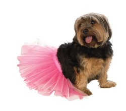 Rubies Costume Halloween Classics Collection Pet Costume, Medium to Large, Pink Tutu