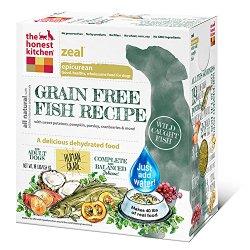 The Honest Kitchen Zeal: Grain Free White Fish Dog Food, 10 lb