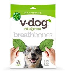 V-Dog Vegan Breathbones Dog Treats, Large