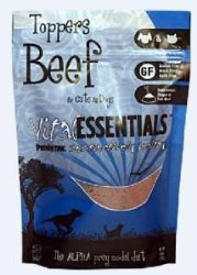 Vital Freeze Dried Beef Toppers For Cats & Dogs 6oz Bag