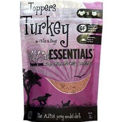 Vital Freeze Dried Turkey Toppers For Cats & Dogs 6oz Bag