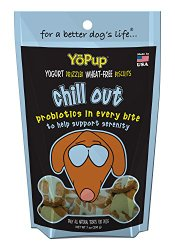 Yoghund YoPup Chill Out Wheat Free Biscuits with Yogurt Probiotic Icing for Pets, 7-Ounce