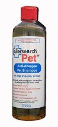 Allersearch Laboratories Pet+(TM): Anti-Allergen Pet Shampoo, 16 oz.