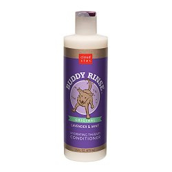 Cloud Star Buddy Rinse Dog Conditioner, Lavender & Mint, 16-Ounce Bottles (Pack of 2)