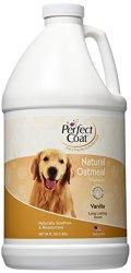 Perfect Coat Natural Oatmeal Shampoo, French Vanilla, 64-Ounce