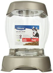 Petmate Pet Café Feeder, 12 pound capacity, Pearl Tan