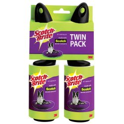 Scotch Pet Hair Roller 839R-70TP, 2-Count