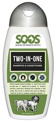 Soos Two-In-One Dog & Cat Dead Sea Shampoo & Conditioner (250 mL)