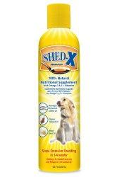 SynergyLabs SHED-X Dermaplex Shed Control Nutritional Supplement for Dog; 8.3 fl. Oz