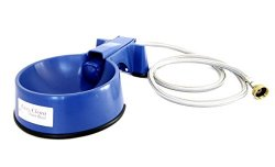 The Easy-Clean Auto-Fill Water Bowl with (5-Foot) Long Stainless Steel Hose