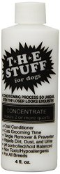 The Stuff Silicon Dog Conditioner and Detangler, 4-Ounce