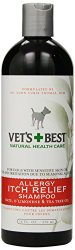 Vet's Best Allergy Itch Relief Dog Shampoo, 16 Ounces