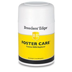 Breeders Edge Foster Care Canine Powdered Milk Replacer 12oz for puppies & dogs