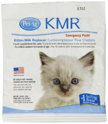 KMR Emergency Pack Milk Powder, 3/4-Ounce