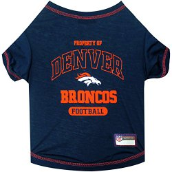 Pets First Denver Broncos T-Shirt, Small