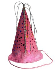 Charming Pet Party Hat for Pets, Small, Pink
