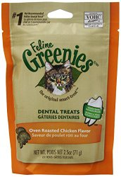 GREENIES 6-Pack Felines Greenies, Chicken, 15-Ounce