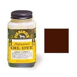 Tandy Leather Fiebings Professional Oil Dye Dark Brown 4 oz 2110-02