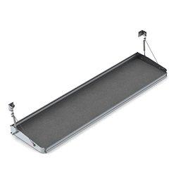 Ranger Design.Fold-Away shelf tray with gas shocks and hardware, 18″d x 72″w