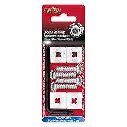 Cruiser Accessories 81200 Standard-Stainless Steel Star Pin Locking Fastener