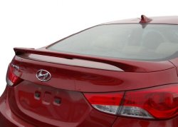 Hyundai Elantra Spoiler Painted in the Factory Paint Code of Your Choice 509 NKA