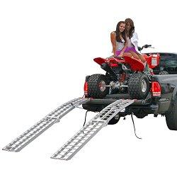89″ Dual Arched Folding Aluminum ATV Loading Ramps