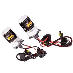 Kshioe(TM) Xenon HID H7 8000K 55W Xenon HID Headlight Bulbs Lamps Replacement Bulbs (Pack of two)